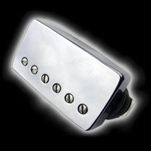 Humbucker Bare Knuckle Geoff Whitehorn Crawler 6 - Puszka Nickel, bridge