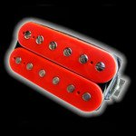 Humbucker Bare Knuckle Warpig 6 - czerwony, neck